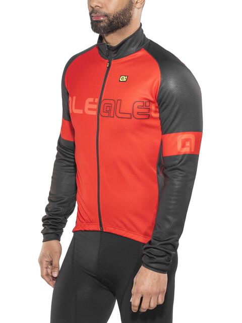 Alé Cycling Solid Basic Jacket Men Red-Black